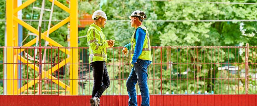 Netwerken in de bouw