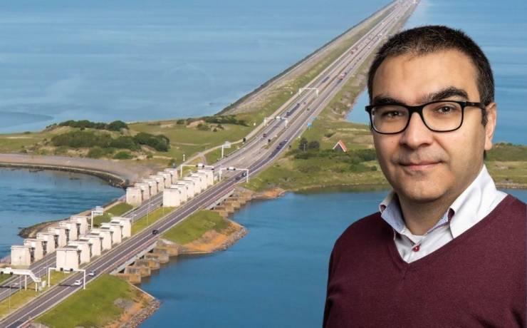arik Balik procescoordinator op project Afsluitdijk